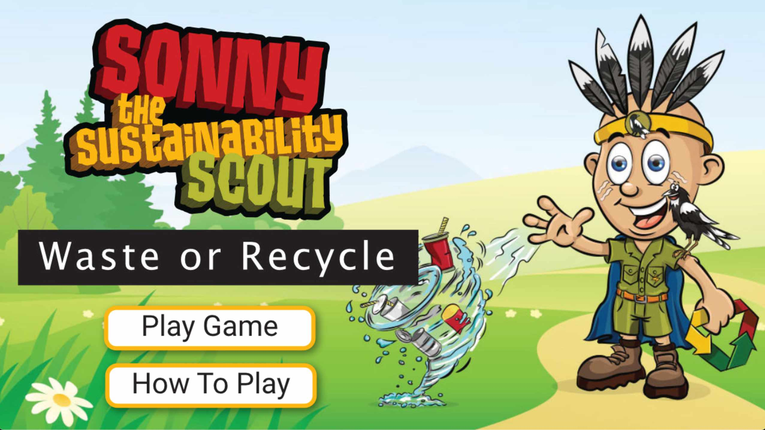 Sonny The Sustainability Scout - Waste and Recycle